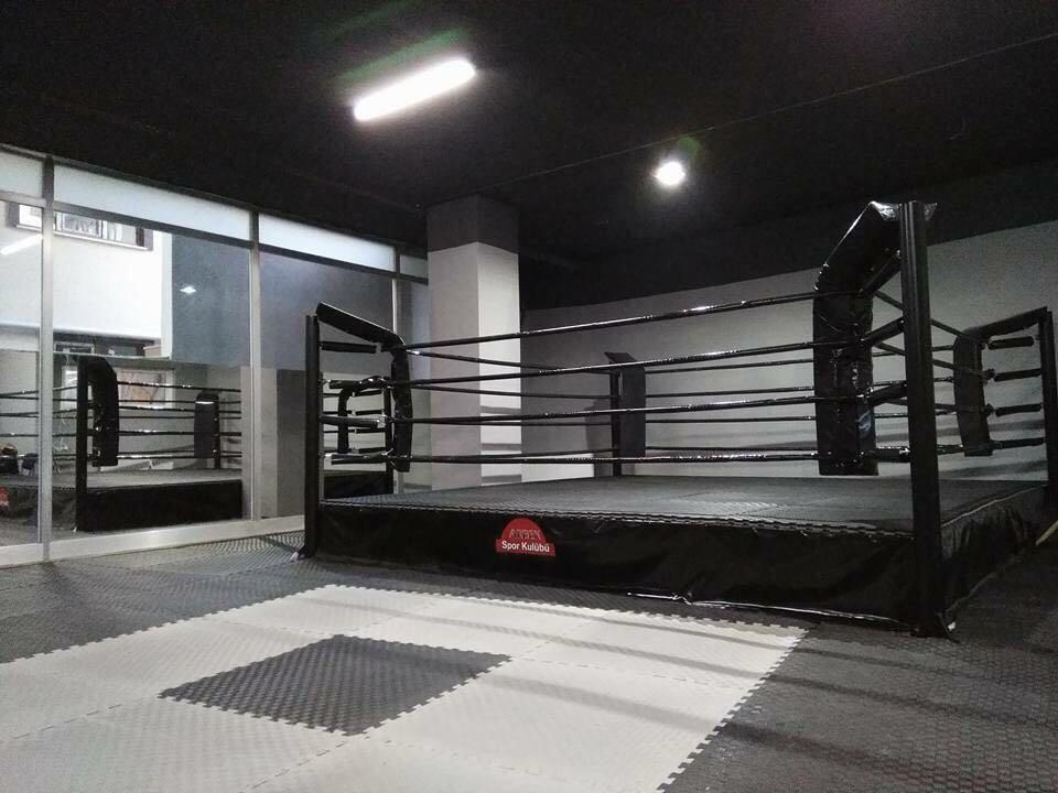 Fındıklı spor merkezi boks ringi teslim edilmiştir