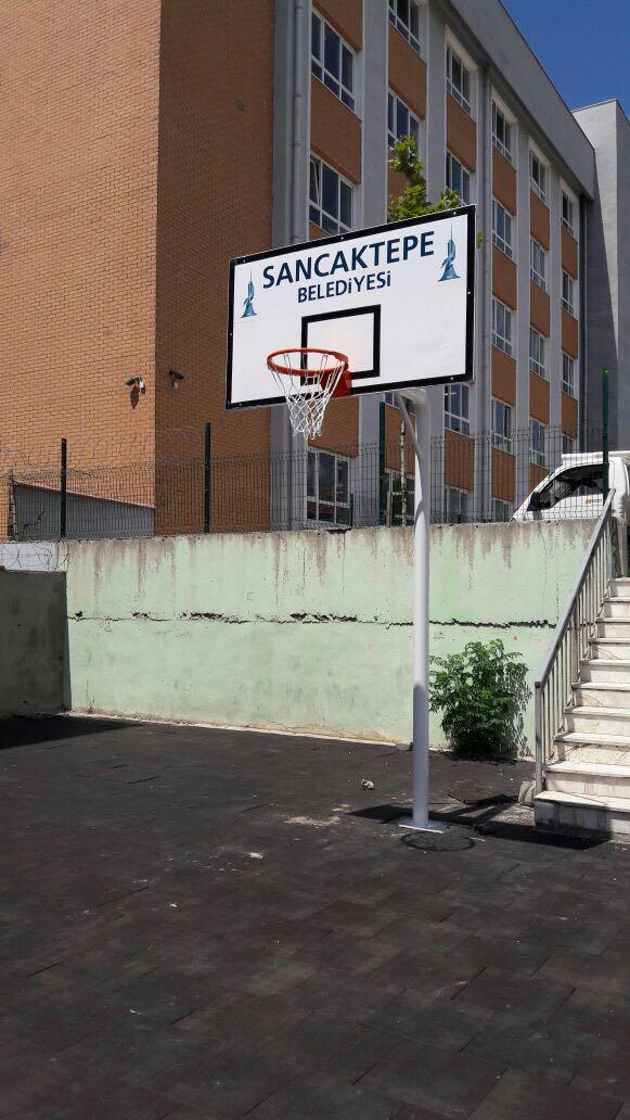Sancaktepe Belediyesine tek ayaklı pota teslim edilmiştir