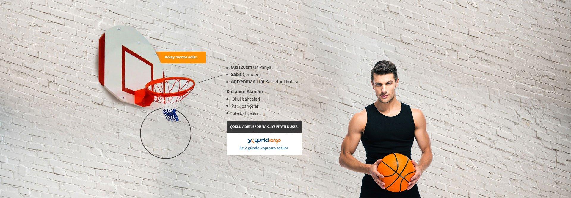PN035 - Duvardan Çıkma Basketbol Potaları
