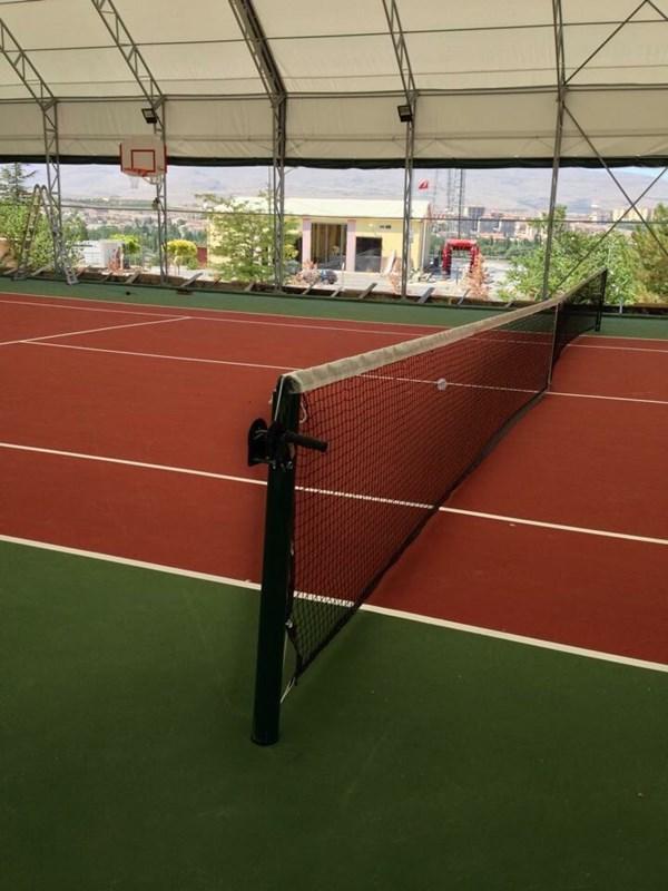 PN0095 - Metal Mapalı Krikolu Tenis Dikmesi