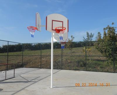 PN08 - Tek Direkli 3 Yönlü Basketbol Potası
