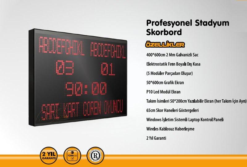 PN0080 - STAD TİPİ SKORBORD