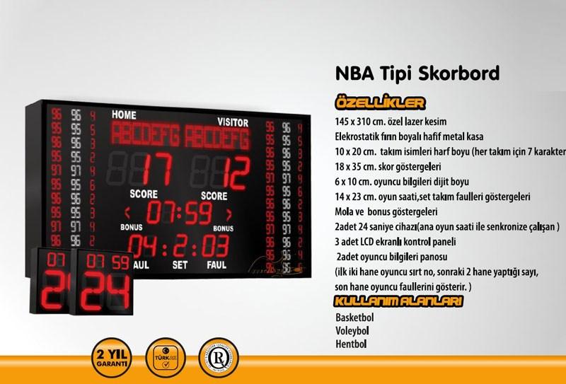 PN0082 - NBA MODEL SKORBORD