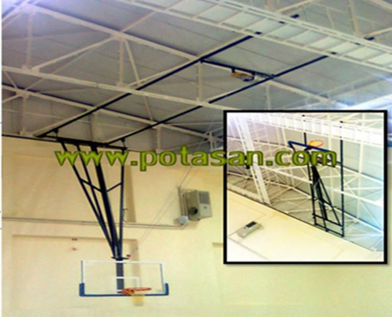PN047 - Katlanabilir Tavandan İnme Basketbol Potası