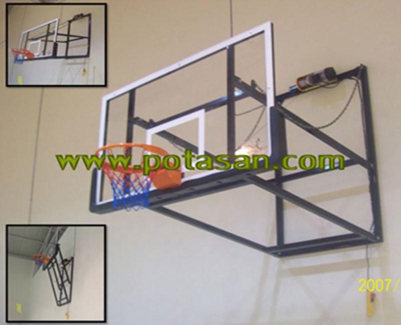 PN030 - Katlanabilir Duvardan Çıkma Basketbol Potası