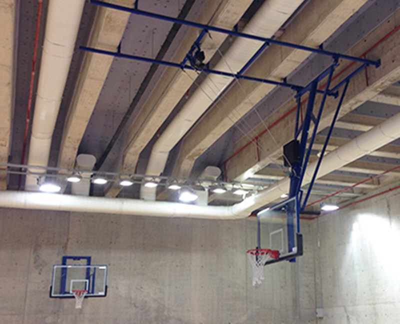 PN046 - Motorlu Katlanabilir Basketbol Potası